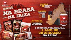 """Perdigão premia consumidores com promoção """"Na Brasa, Na Faixa""""."""