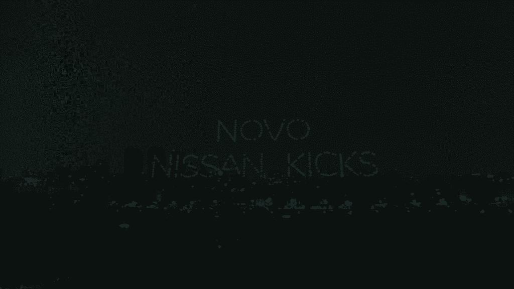 Nissan ilumina o céu de São Paulo para lançamento do novo Kicks.