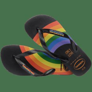 Havaianas anuncia novidades na linha global Pride.