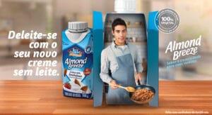Almond Breeze amplia portfólio e lança Creme com Amêndoas além de um novo sabor.