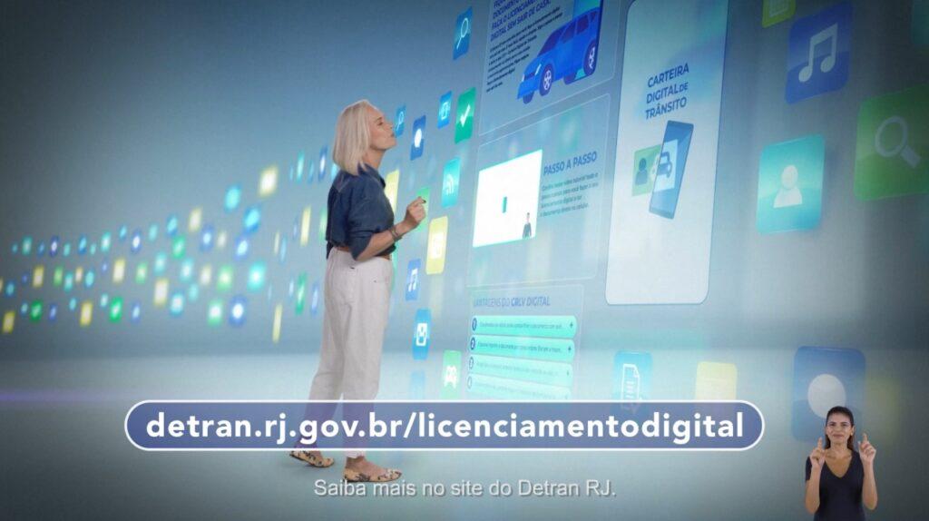 Detran.RJ estimula uso dos documentos digitais dos veículos.
