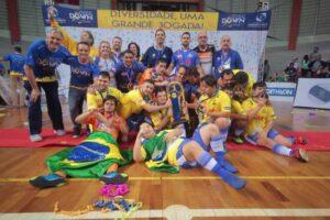 Gillette se torna patrocinadora oficial da Seleção Brasileira de Futsal Down.