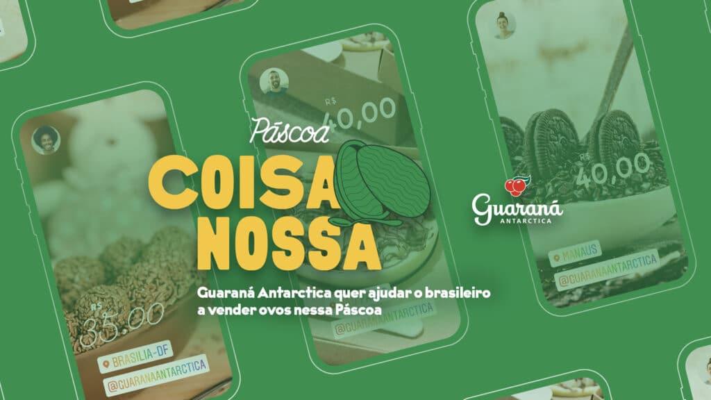 Guaraná Antarctica une produtores de ovos de chocolate caseiro aos consumidores.