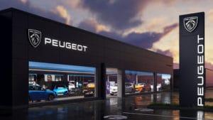 Peugeot apresenta seu novo logo.