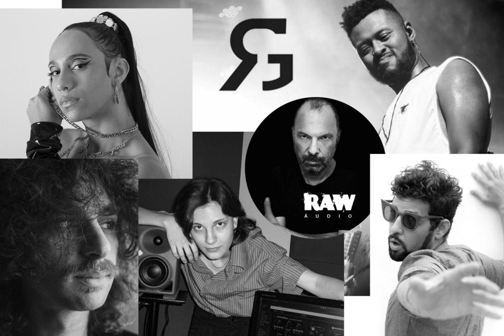 Raw Audio anuncia Raw Collab, hub de criatividade e diversidade.