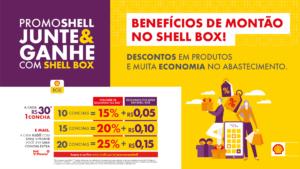 Shell lança promoções que darão descontos e créditos para motoristas.