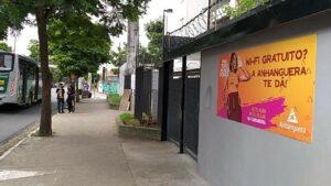 Campanha da Anhanguera, com apoio da Três Meios, disponibiliza wi-fi gratuito em comunidades