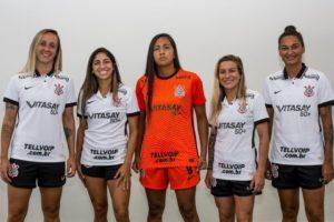 Vitasay50+ patrocina time feminino do Corinthians na Copa Libertadores.