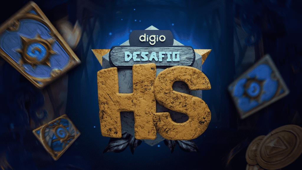 Webedia promove Digio Desafio Hearthstone.