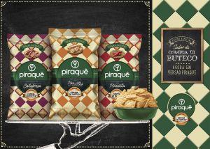 Piraquê lança salgadinhos em ação de cobrand com o Comida Di Buteco em três deliciosos sabores