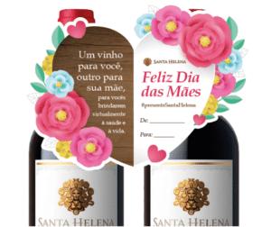 RPMA cria campanha de Dia das Mães para Viña Santa Helena