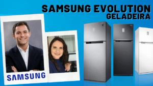 Geladeira Samsung Evolution - Elisangela Peres entrevista Caio Marques, Gerente Sênior de Produtos da divisão de Home Appliances da Samsung Brasil