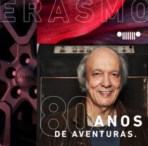 """Erasmo Carlos estreia quarta temporada de podcast com a Jeep: """"80 Anos de Aventuras"""""""