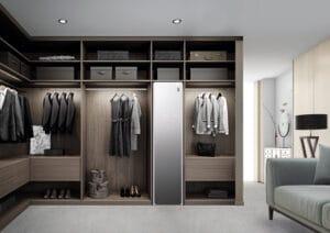 LG Styler: o closet inteligente que passa e higieniza roupas para você