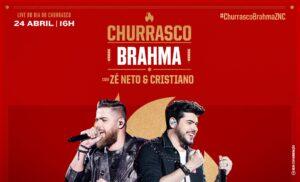 Frigol patrocina Live Churrasco Brahma, com Zé Neto e Cristiano