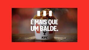KFC lança nova campanha