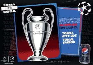 PEPSI LANÇA LATA COMEMORATIVA DA UEFA CHAMPIONS LEAGUE