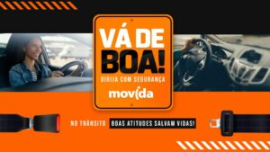 Movida lança campanha para trânsito mais seguro