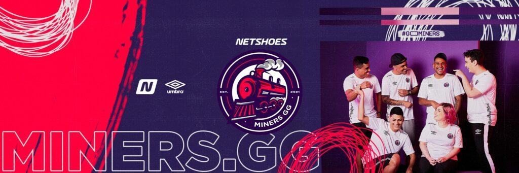 Netshoes apresenta equipe de eSports