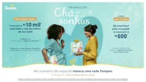 Pampers apresenta promoção: Chá dos Sonhos