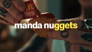 Os McNuggets ganham status de protagonista quando o assunto é Méquizice. O objetivo da campanha é mostrar que tem muitas formas de se comer o McNuggets.