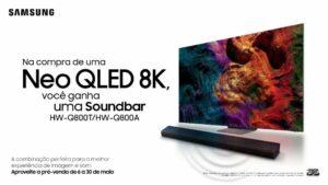 Samsung oferece condições exclusivas aos consumidores na pré-venda da linha 2021 de TVs e Soundbars