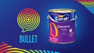 Bullet amplia escopo em Coral