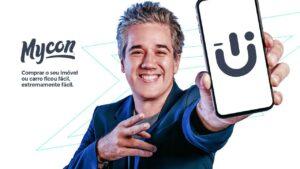 Rogério Flausino em campanha publicitária da Mycon
