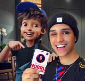 Nobru é contratado pela Casas Bahia