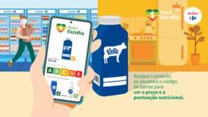 Carrefour disponibiliza ferramenta Nutri Escolha