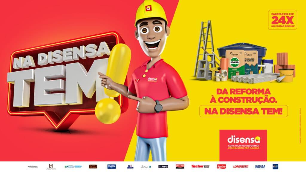 Disensa lança campanha visando a retomada da economia.