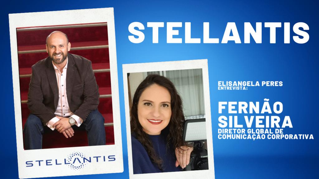 Comunicação Corporativa da Stellantis - Fernão Silveira assume cargo global