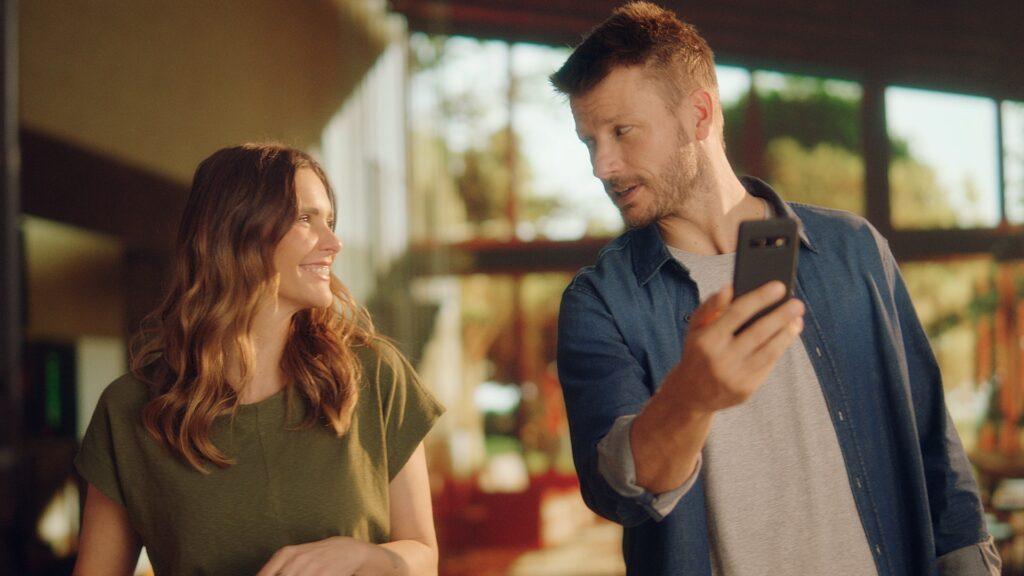 Fernanda Lima e Rodrigo Hilbert estrelam campanha da Shopper.