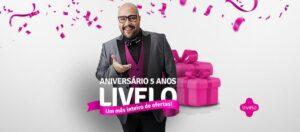 Tiago Abravanel brilha em campanha de aniversário de cinco anos da Livelo