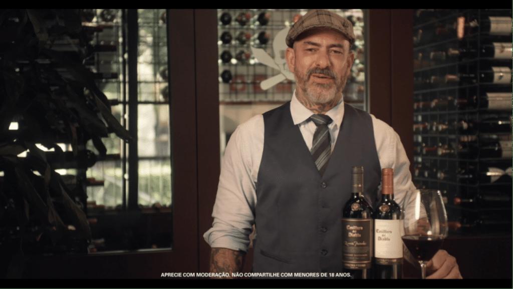 Casillero del Diablo em parceria com chef o Fogaça