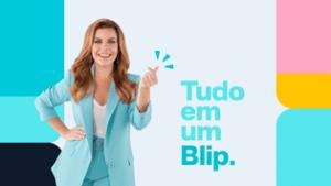 Fernanda Souza protagoniza campanha da Take Blip