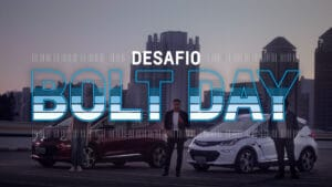 Chevrolet Bolt EV participa de desafio com motoristas de aplicativo no Dia do Motorista.