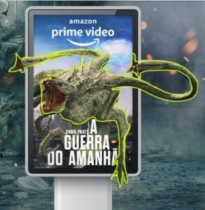 Aliens invadem SP em campanha da Amazon Prime