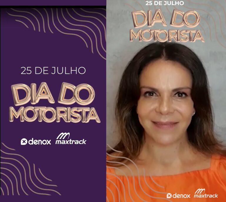 Sula Miranda estrela ação para o Dia do Caminhoneiro.