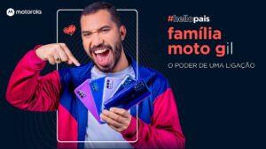 Gil do Vigor estrela campanha de Dia dos Pais da Motorola.