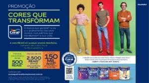 Coral transforma vida de consumidores em promoção.