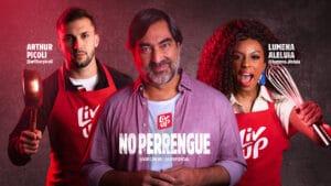 """A Liv Up lança uma nova campanha """"No Perrengue"""", inspirda no universo dos reality shows, e conta com participações de Zeca Camargo e ex-BBBs."""
