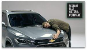 A nova ação da Chevrolet para apresentar o restart do SUV Tracker tem apresentação de Fabio Porchat, que irá reconta histórias do público.
