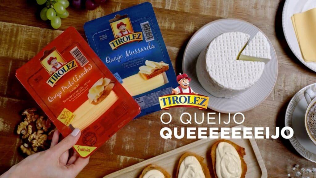 """Pensando em trazer experiências sensoriais com queijo para o consumidor, a Tirolez apresenta a campanha """"Tirolez, o queijo queeeeeeijo""""."""