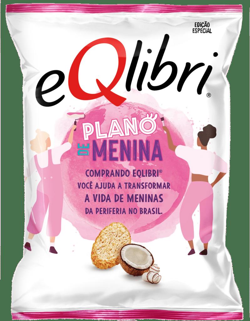 eQlibri lança Panetini sabor Coco em parceria com o Instituto Plano de Menina.