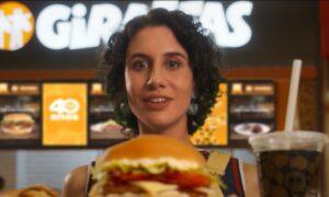 A Giraffas lança seu novo vídeo institucional, que traz os pratos, sanduíches e sobremesas da rede como estrelas do filme publicitário.