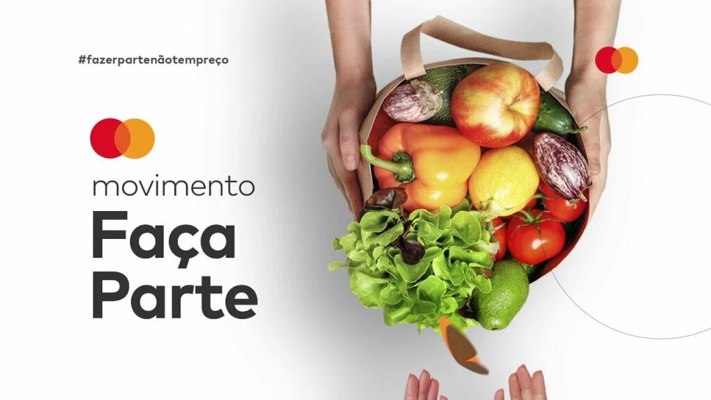 """A MasterCard continua o movimento """"Faça Parte: Comece o que não tem preço"""" para combater a fome por meio através da doação de recursos."""