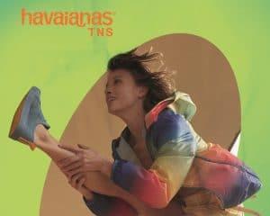 Havaianas lança o Havaianas TNS, primeiro tênis da marca que tem a preferência nacional em chinelos, que chega apostando na leveza.