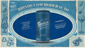 """A Ambev, junto com sua marca Tônica Antarctica, lança projeto """"Brinde com Moderação"""", seu primeiro concurso de drinques sem álcool do Brasil."""