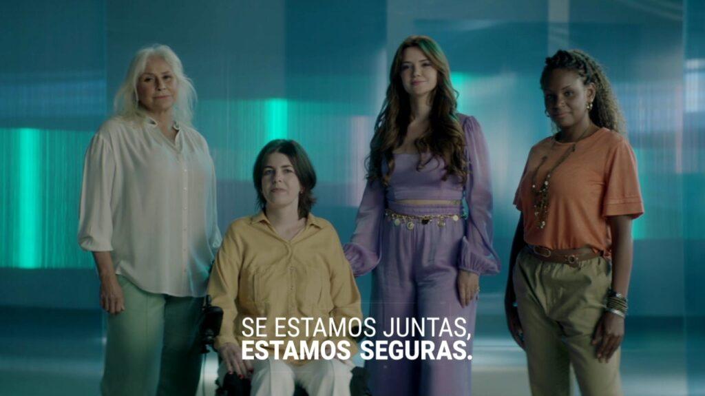 """A Bigfral Moviment lança sua nova campanha, """"Juntas e Mais Seguras"""", que chega ao ar com direção de cena de Sergio Glasberg."""